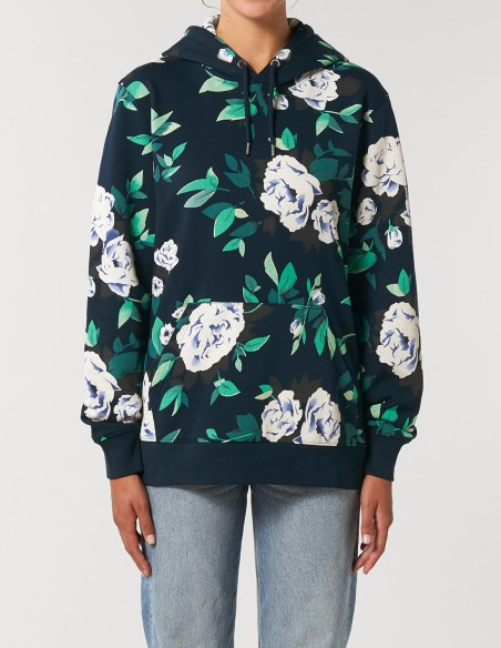 Hanorac AOP (all over print) Floral - unisex / femei - frontal