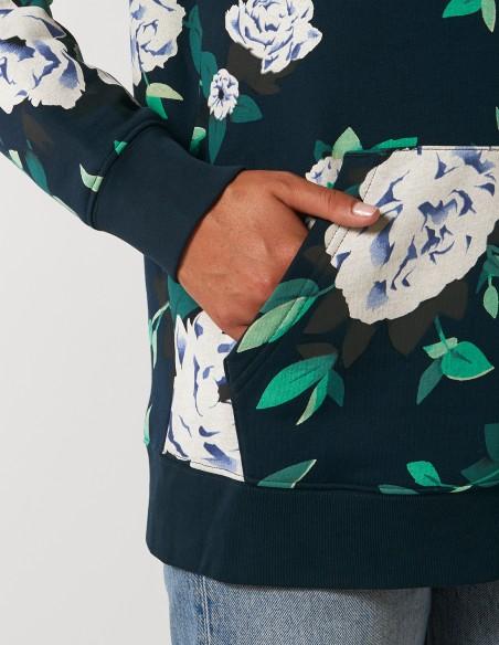 Hanorac AOP (all over print) Floral - detaliu