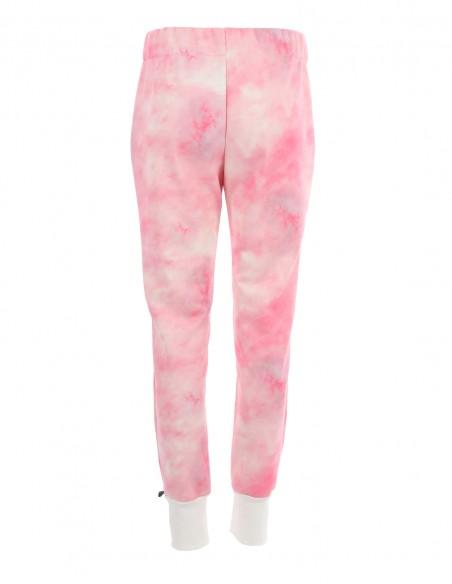 Hannah - Pantaloni jogger tie dye - byEDA.ro - Roz