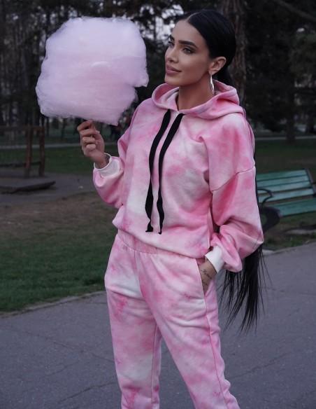 Adelina Pestritu - Trening tie dye - byEDA - Roz
