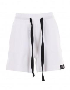 Pantaloni scurti cu logo Vanilla - alb