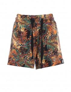 Pantaloni scurti din bumbac - Orange tropical