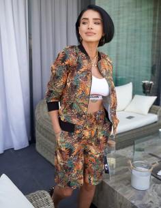 Adelina Pestritu - Summer tropical tracksuit byEDA