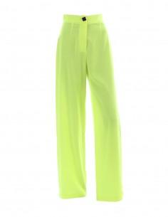 Pantaloni de vara cu talie inalta - Lime - byEDA