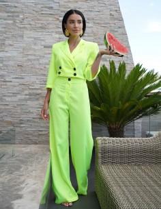 Adelina Pestritu - Costum de vara Lime - byEDA