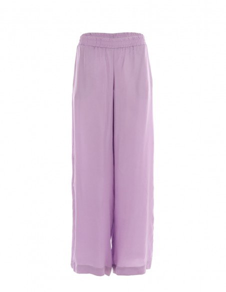 Pantaloni vaporosi de vara - Lila - byEDA