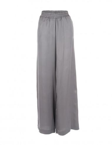 Pantaloni vaporosi de vara - Gri - byEDA