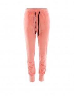 Katia - Pantaloni de catifea - byEDA - Roz pal