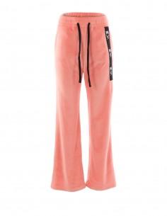Pantaloni de catifea - byEDA - Roz pal