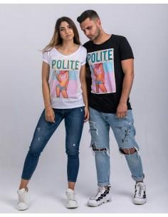 Tricou oversize Polite