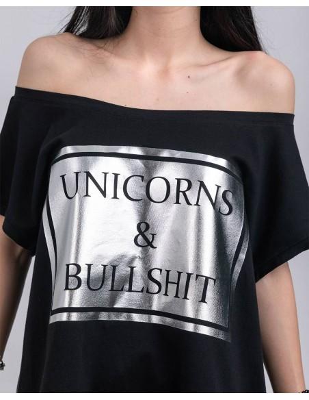 Tricou Unicorns and Bullshit
