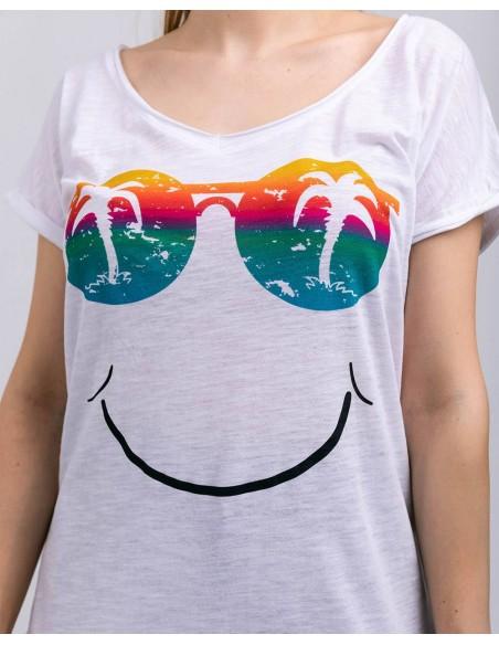 Tricou oversize Hello Summer