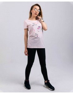 Tricou premium Life In Pink