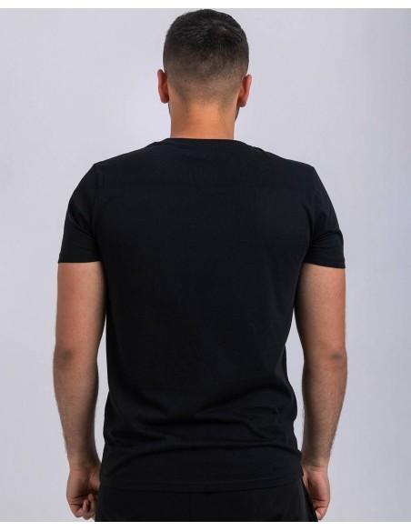 Tricou unisex bumbac organic logo ByEDA baiat posterior