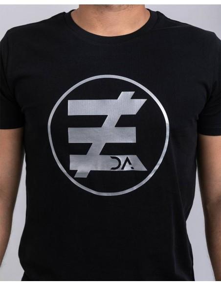 Tricou unisex bumbac organic logo ByEDA detaliu