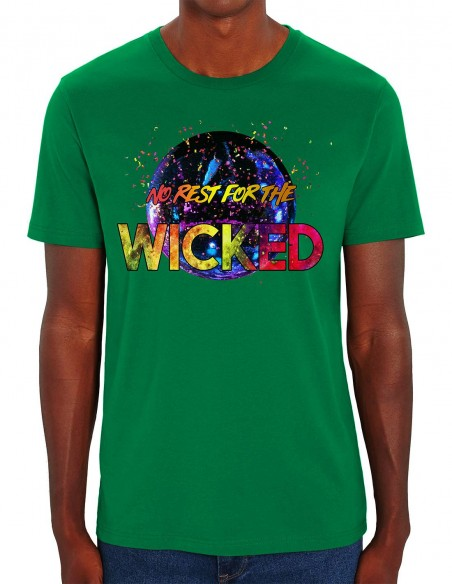 Tricou barbati No rest for the Wicked verde frontal
