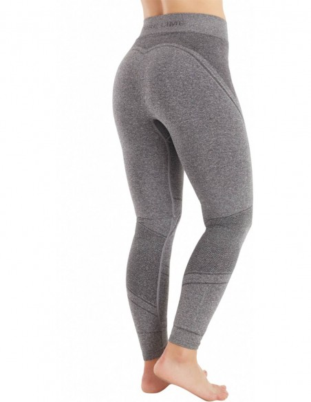 Pure Lime Colanti sport Body Dry Pure Tech - Charcoal melange posterior