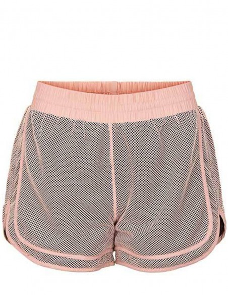 The New Pure Pantaloni scurti din plasa Pure Mesh - Adobe Rose frontal