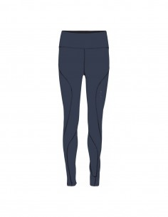 Pure Lime Colanti sport femei Performance Tights - Dress Blue