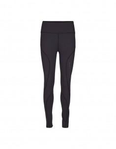 Pure Lime Colanti sport femei Performance Tights - Black