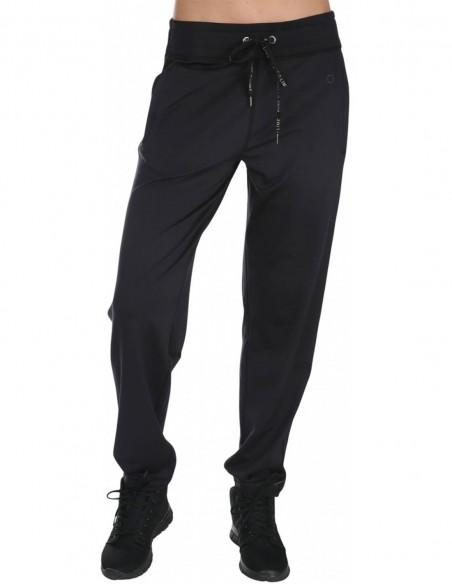 Pure Lime Pantaloni sport pentru femei Athletic - Negru frontal