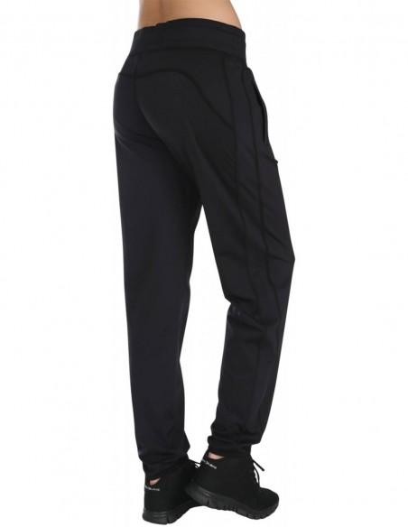 Pure Lime Pantaloni sport pentru femei Athletic - Negru posterior