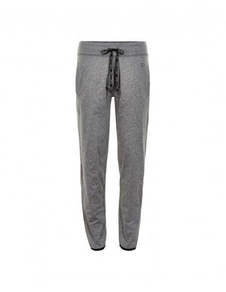 Pure Lime Pantaloni sport pentru femei Athletic - Charcoal Melange frontal