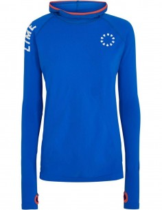 Pure Lime Bluza sport cu maneca lunga Active - Lapis Blue