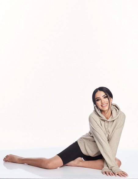 Adelina Pestritu - Hanorac din bumbac organic cu gluga (photo: Studio Baragan)