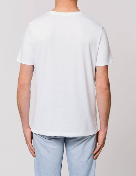 Home Alone - Tricou alb barbati bumbac organic posterior