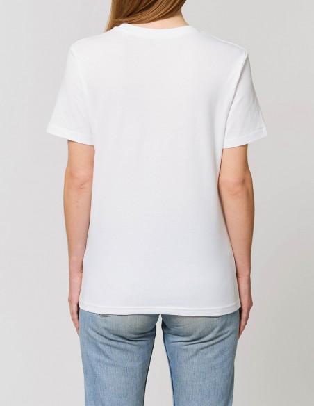 Home Alone - Tricou alb dama bumbac organic posterior
