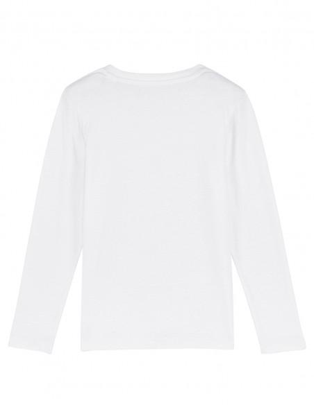 Merry Christmas - Bluza din bumbac organic pentru copii posterior