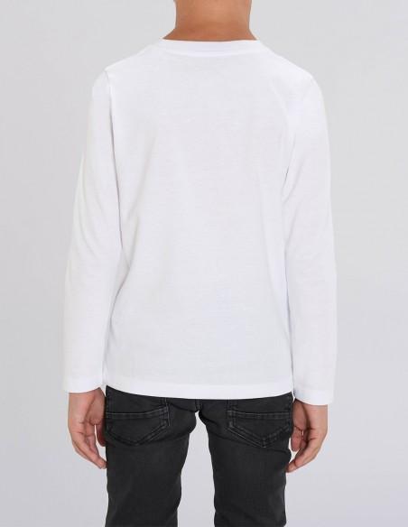 Merry Christmas - Bluza din bumbac organic pentru baieti posterior