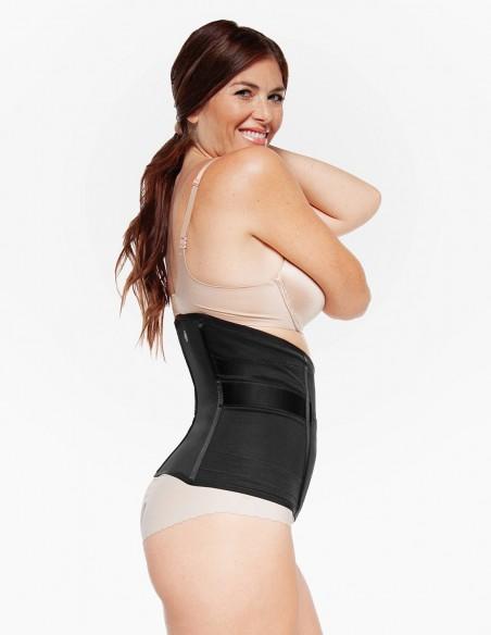 Belly Bandit® Centura postnatala LUXE Belly Wrap Negru lateral